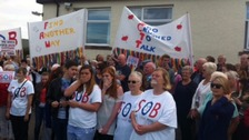 Campaigners are fighting to save hospital beds