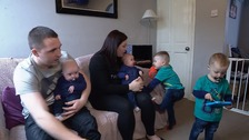 Suffolk couple have two sets of twins after being told they'd never have children