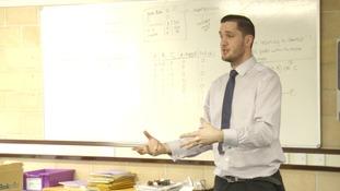 Ray Chambers teaches at Brooke Weston Academy.