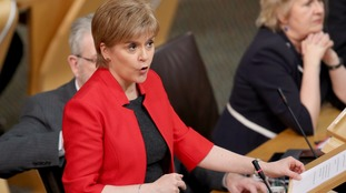The Scottish Parliament will vote on plans for a referendum on Wednesday.