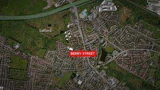 Investigation after man dies in Salford fire