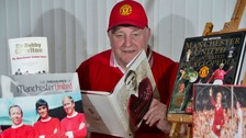 Life-long Man Utd fan's ashes scattered at Old Trafford
