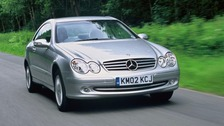 A CLK 220 Coupe Mercedes similar to the one stolen in Carlisle