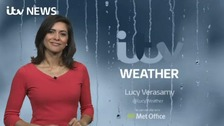Lucy has the latest ITV Meridian weather