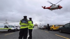 Wreckage of Irish coast guard helicopter found