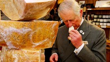 'He does like his cheese!': Prince of Wales visits Yorkshire