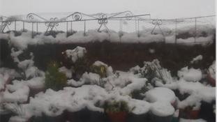 Snow in Cumbria.