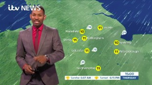 East Midlands Weather: Some rain overnight