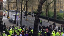 Five dead in Westminster 'terror incident'