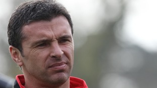 Tributes paid to Gary Speed a year after his death