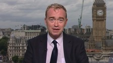 Tim Farron was 50 yards from terror attack