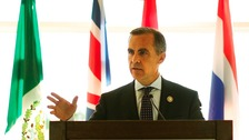 Mark Carney, Governor of the Bank of Canada, in September