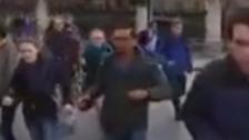 Video: Moment three gunshots are caught on camera
