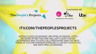 The People's Projects will support a series of good causes.