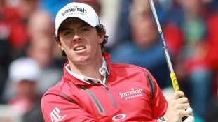 Northern Ireland golfer Rory McIlroy.