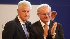 Bill Clinton to attend Martin McGuinness funeral