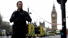 Counter-terrorism officers investigate Westminster attack as death toll rises