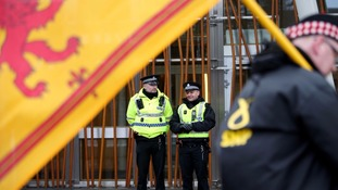 MSPs suspended an earlier debate following the attack in Westminster