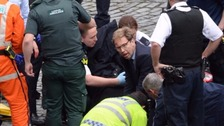MP Tobias Ellwood praised as 'hero' after trying to save officer