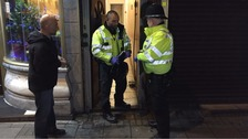 Armed police officers 'raid flat' in Birmingham