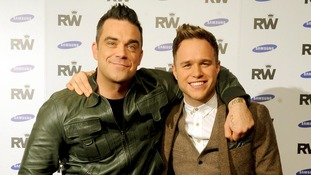 Robbie Williams and Olly Murs will play 17 dates across Europe next year