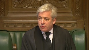 John Bercow paid tribute to PC Keith Palmer