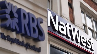 More than 150 Royal Bank of Scotland and NatWest branches set to close