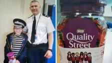 A schoolgirl brought tears to the eyes of police in Sandwell