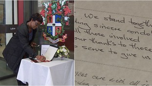 Book of condolence set up as Luton sends prayers to Westminster attack victims