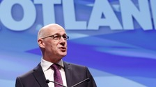 John Swinney is promising big changes in educaiton