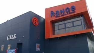 The Range 88 stores across the UK.