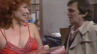 Bill Tarmey as Jack Duckworth with his on-screen wife Vera, played by Liz Dawn