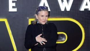 Carrie Fisher died in December.