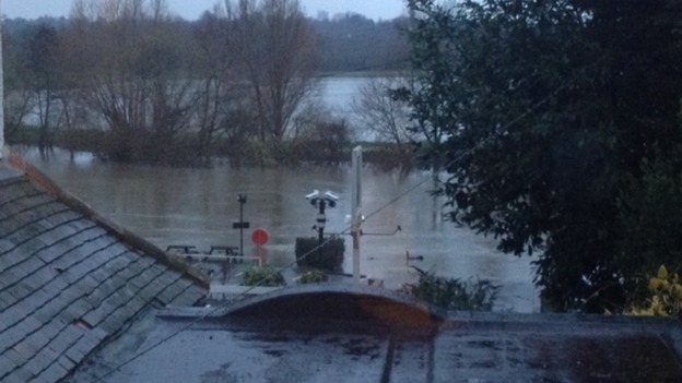 Wargrave flooding