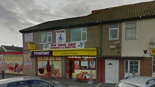 Police appeal following robbery on shop at Rhyl