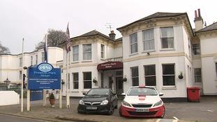 Michael Petersen encountered Khalid Masood at Brighton's Preston Park Hotel.