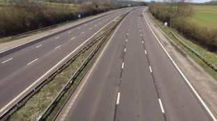 The M6 has been closed