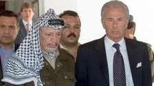 Yasser Arafat and Lord Levy