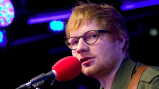 Ed Sheeran has held on the top spot for 11 consecutive weeks.