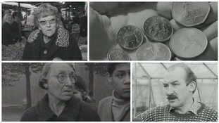 ITV Central archive: Midlanders react to currency change