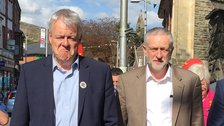 Carwyn Jones and Jeremy Corbyn