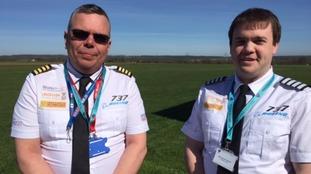 Jonathon Lockton, the director of jetsim, and Neil Hodgson