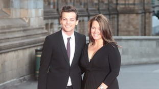 Louis Tomlinson and his mother Johannah Deakin