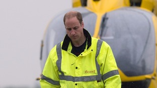 Prince William's air ambulance in 'near miss' with potentially deadly drone