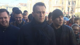 Alexei Navalny and his Foundation for Fighting Corruption had called for the protests.