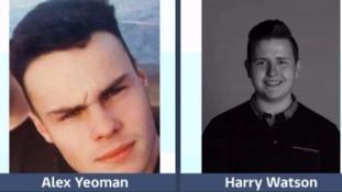Alex Yeoman and Harry Watson