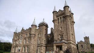 Stormont Castle in Belfast where the talks were held.