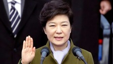 Park Geun-hye was South Korea's first female leader.