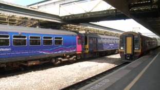 All change on the trains