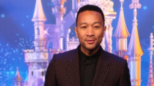 John Legend attending the 25th Anniversary of Disneyland Resort Paris